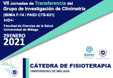VII Jornadas de Transferencia del Grupo de Investigación de Clinimetría (IBIMA F-14 / PAIDi CTS-631)